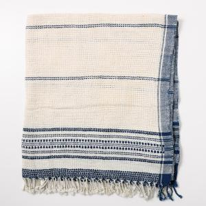 Suno & Morrison Organic Khadi Basket Bath Towel Natural