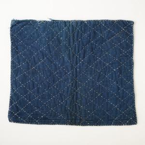 e64b080071e7 貴州省 苗族 中国 藍染め刺し子布 オールド