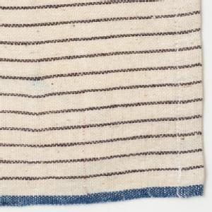 Suno & Morrison Khadi Kitchen Towel Charcoal Pin Stripe
